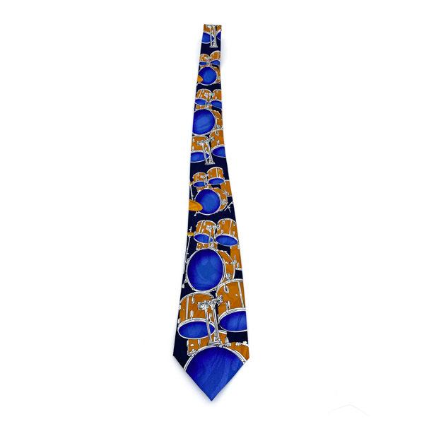 Blue Drum Tie