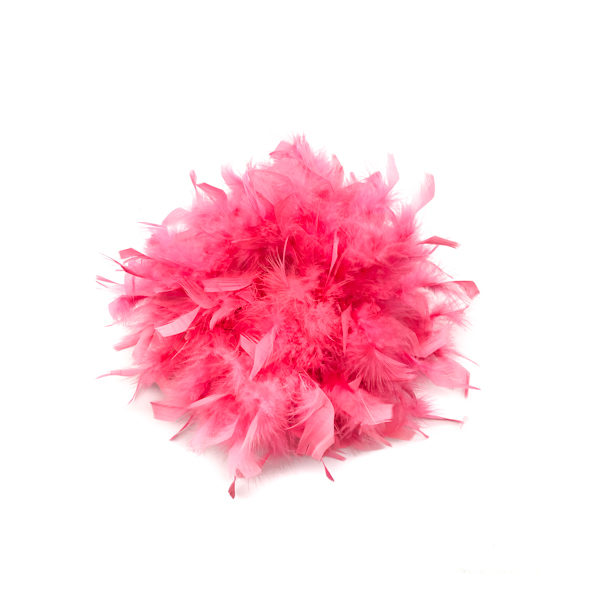 Bubblegum Pink Feather Boa
