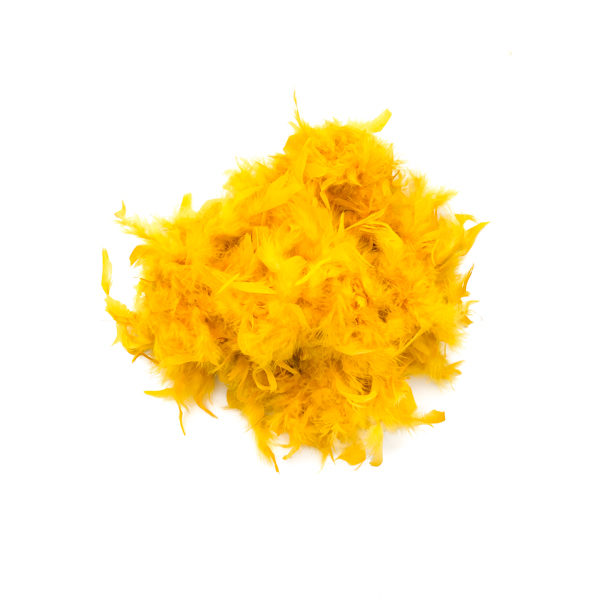 Canary Yellow Feather Boa