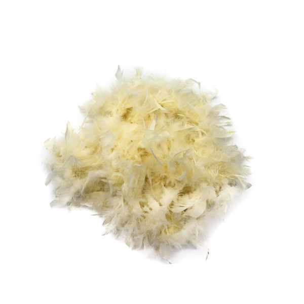 Cream Feather Boa