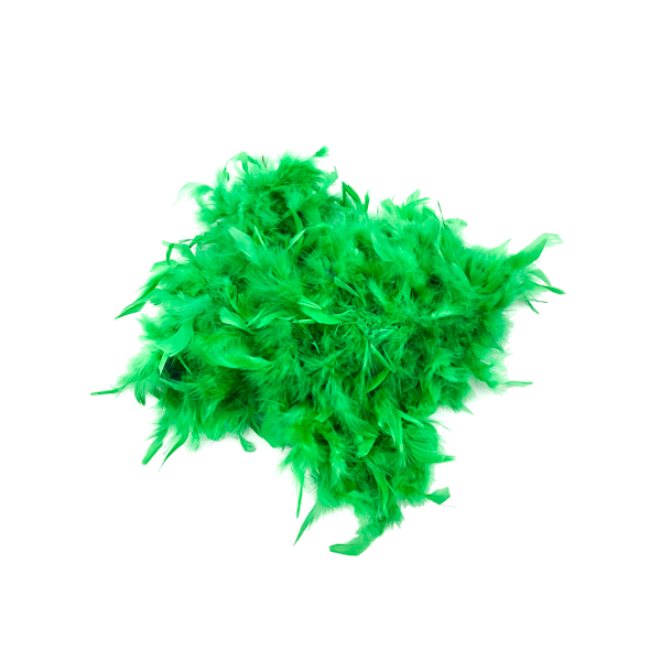 Dark Green Feather Boa