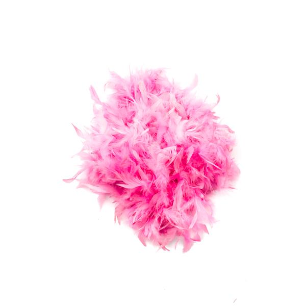 Flamingo Pink Feather Boa