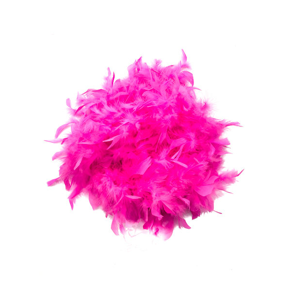 Fuschia Feather Boa