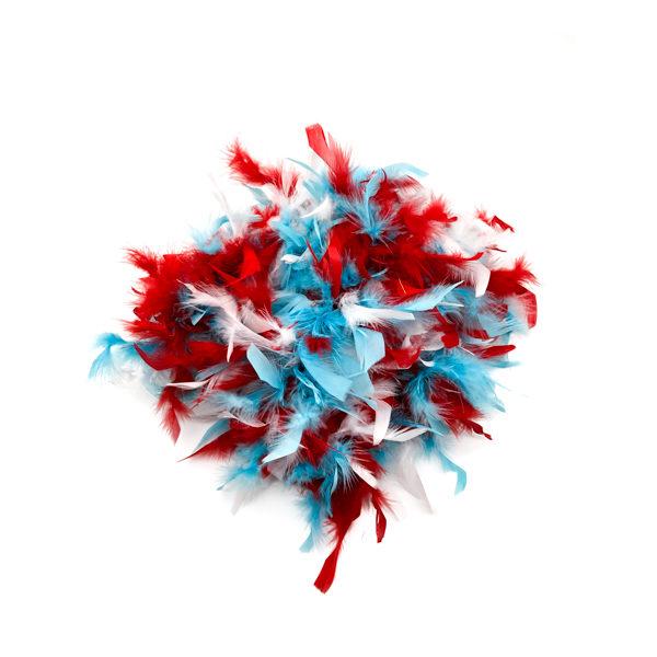 Light Blue Feather Boa
