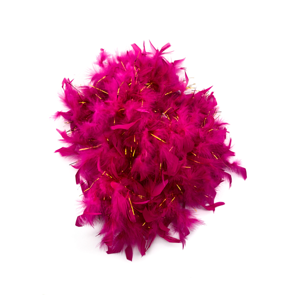 Magenta Feather Boa