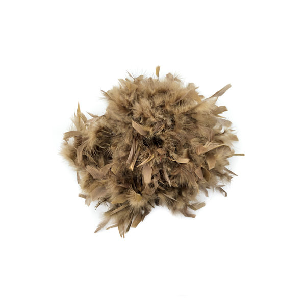 Medium Brown Feather Boa