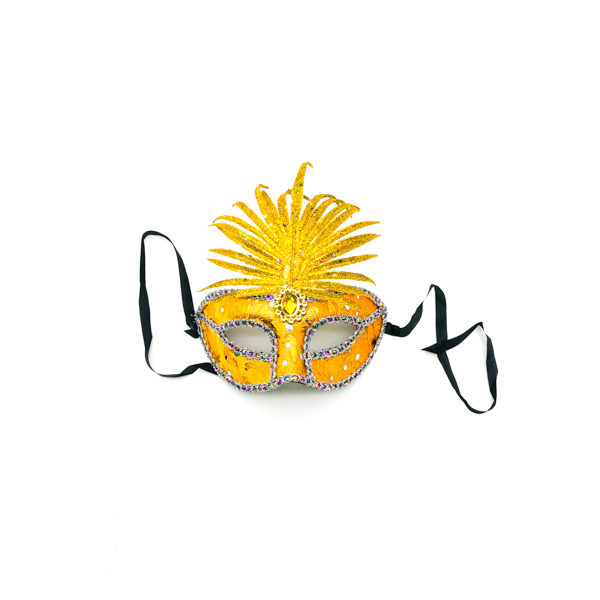 Gold Pineapple Mask