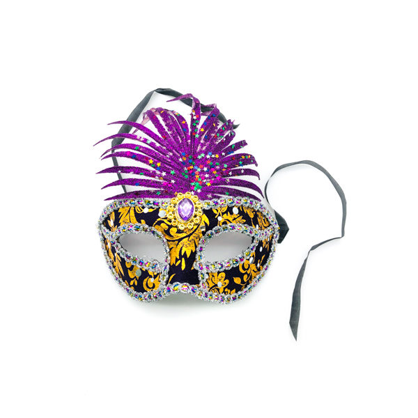 Purple Pineapple Mask
