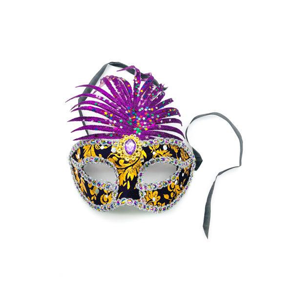 Purple Pineapple Mask
