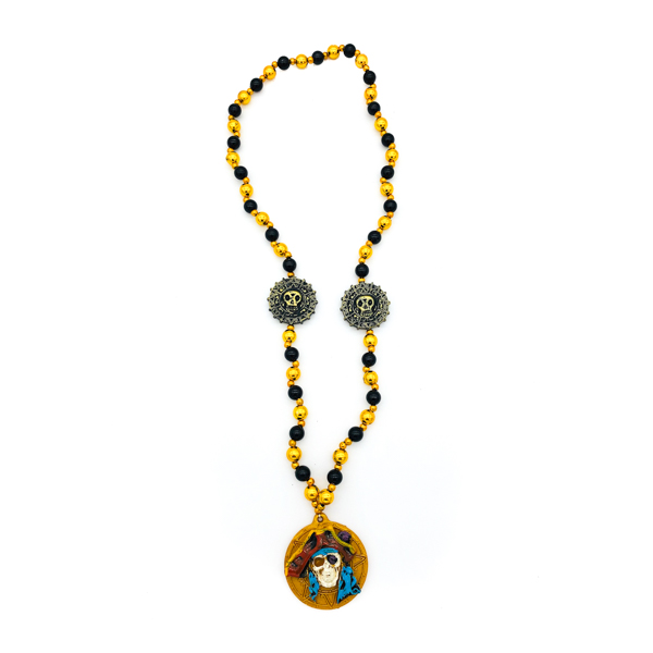 Pirate – Yellow and blue beads