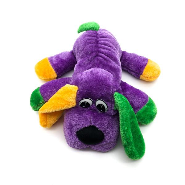 Purple, Green & Gold Dog