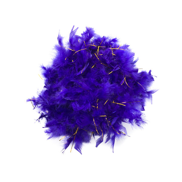 Royal Purple Feather Boa