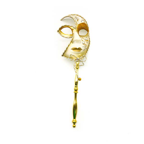 Gold Face With Stick