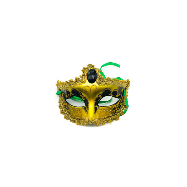Black & Gold – Venetian Mask