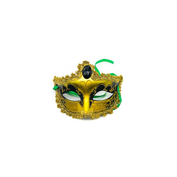 Black & Gold – Venetian Mask