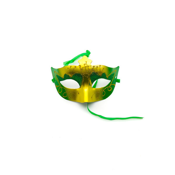 Green & Gold – Venetian Mask